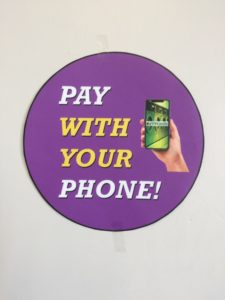 simple to use our Eziwash pay by mobile