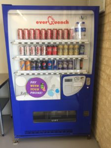 use your mobile to purchase a drink for our machine in laundromat joondalup